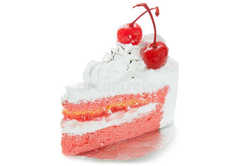 Pedazo de torta foto de archivo