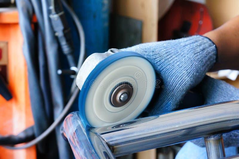 Pedazo de trabajo pulido. imagen de archivo libre de regalías