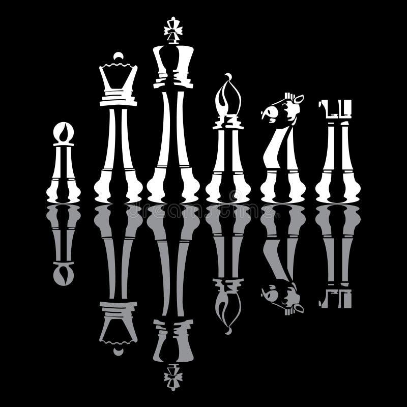Pedazos de ajedrez   libre illustration