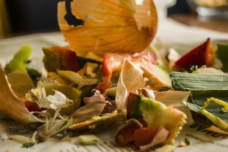 Pedazos de la comida imágenes de archivo libres de regalías