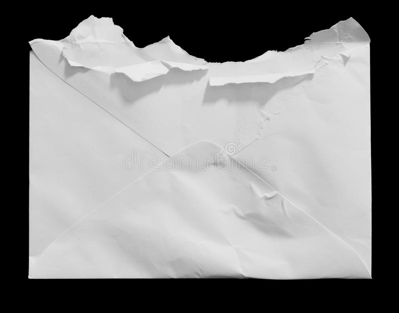 Pedazos de papel rasgado imagen de archivo libre de regalías