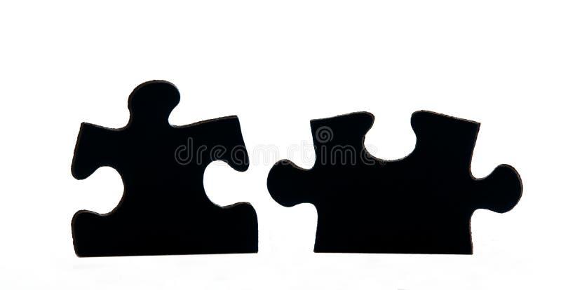 Pedazos del rompecabezas imagen de archivo