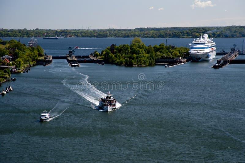 Peddelstoomboot royalty-vrije stock afbeeldingen