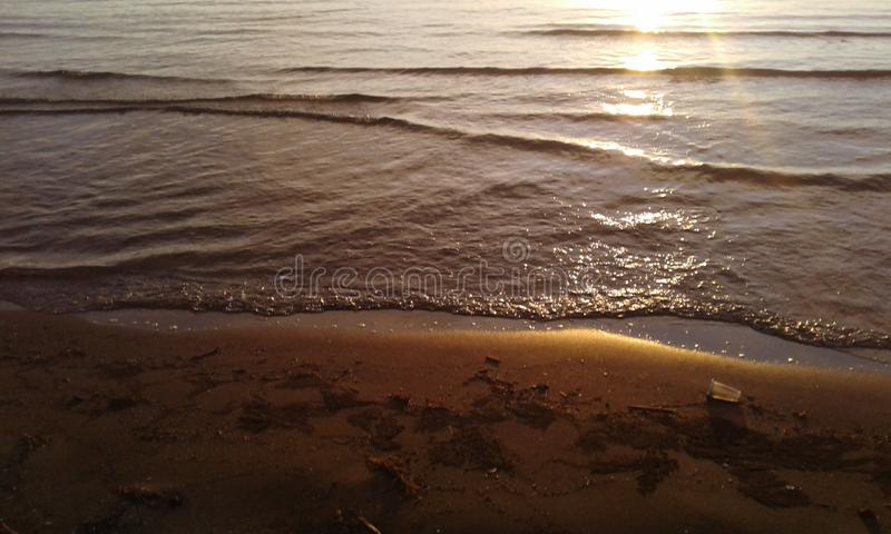 Pede海滩 免版税图库摄影