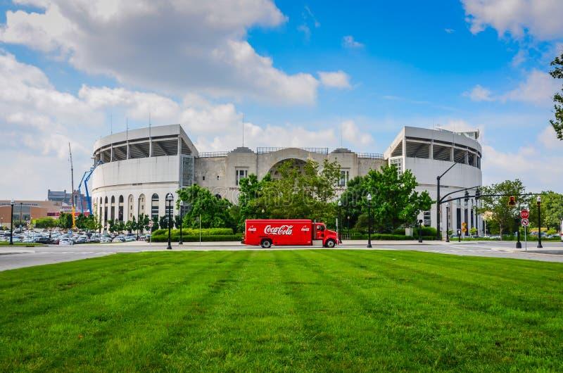 Peden stadion - Aten, Ohio fotografering för bildbyråer
