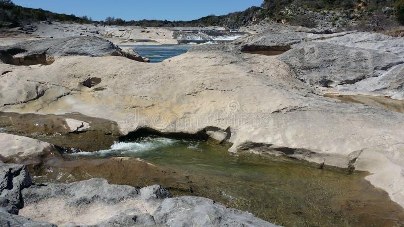 Pedernales cai parque estadual imagens de stock royalty free