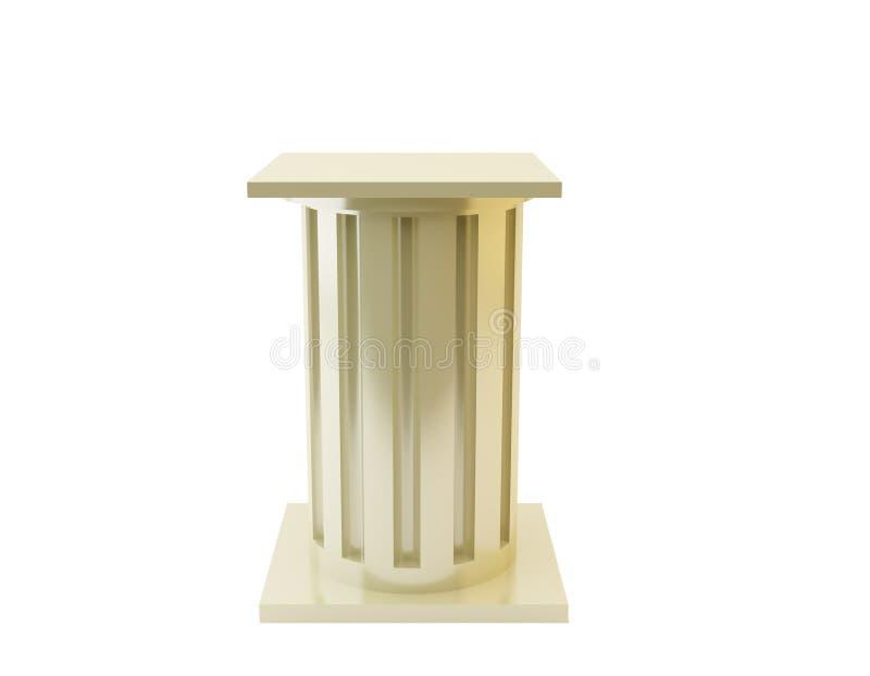 Pedestal royalty free stock photos