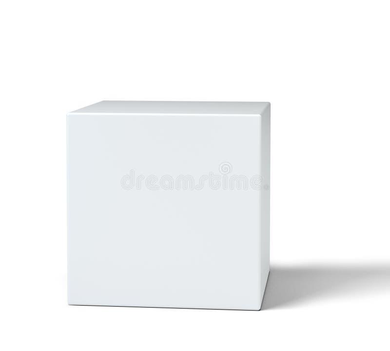 Pedestal redondo vacío para la exhibición ilustración del vector