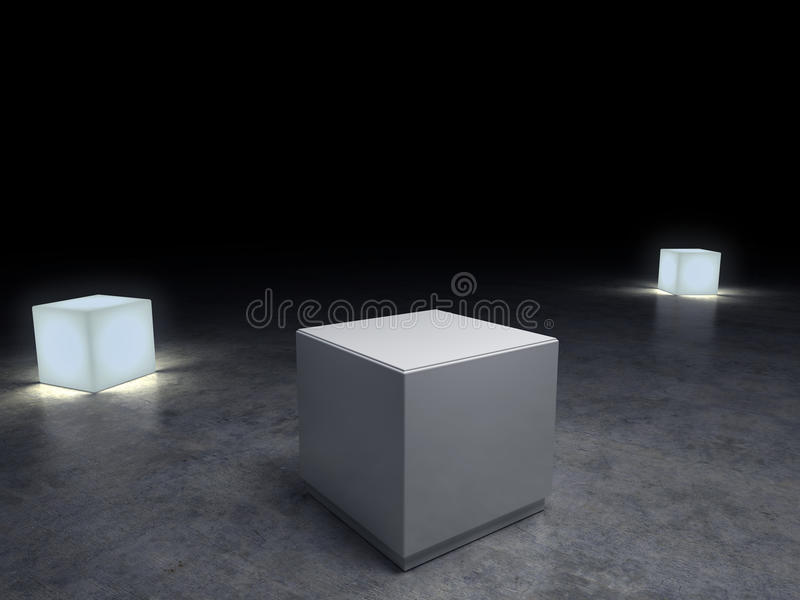 Pedestal vacío libre illustration