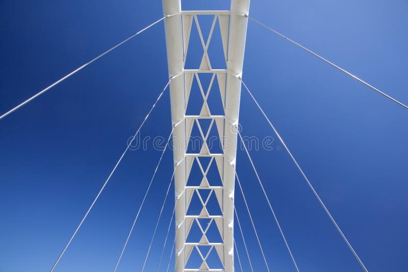 Download Pedestrian Bridge stock photo. Image of above, pedestrian - 24362082