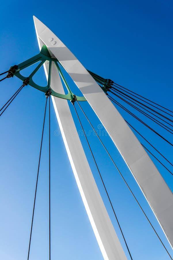 Pedestrian bridge stock images