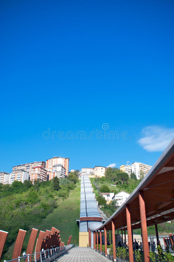 Download Pedestrian Bridge, Potenza, Italy Editorial Stock Photo - Image: 25392603