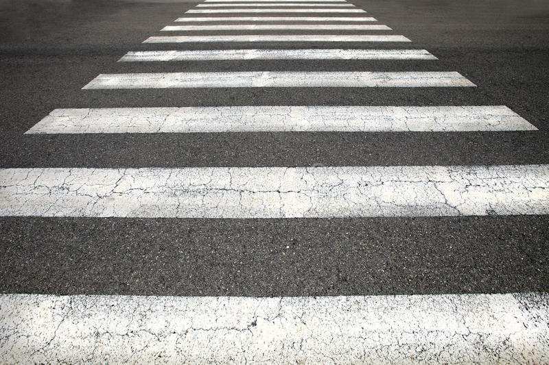 Download Pedestrian crossing stock image. Image of worn, nobody - 31842765