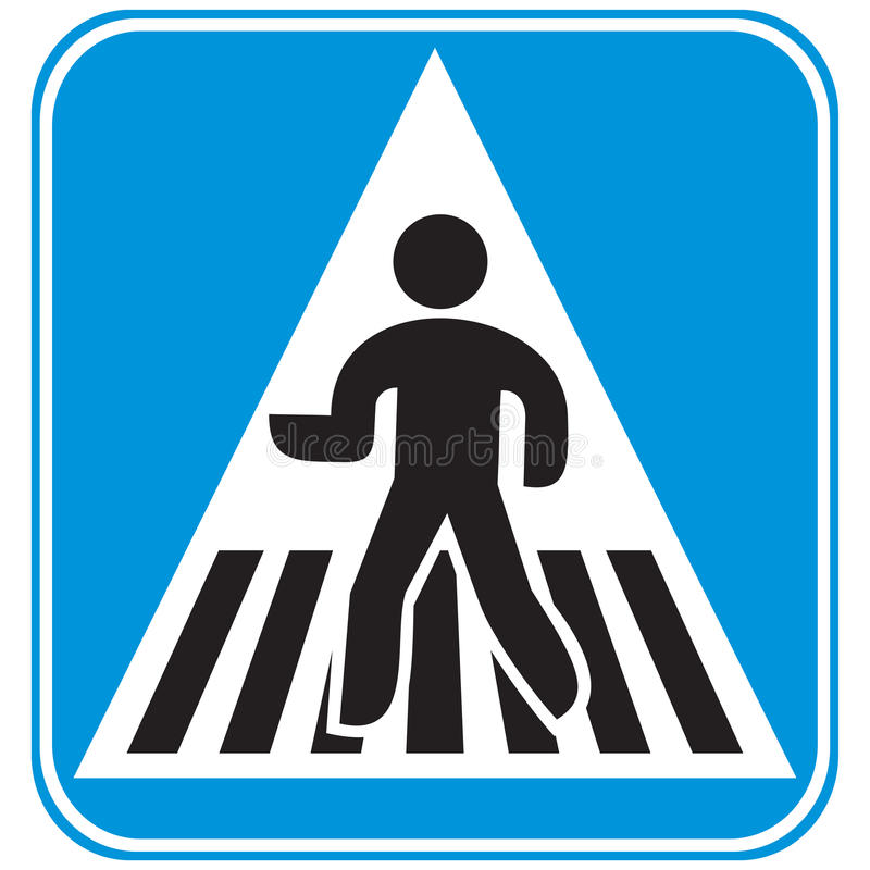 Free Pedestrian Crossing Royalty Free Stock Images - 38251789