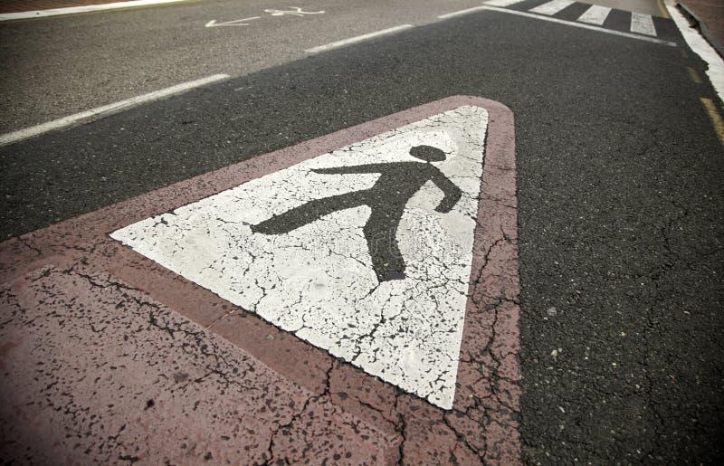 Pedestrian crossing stock image