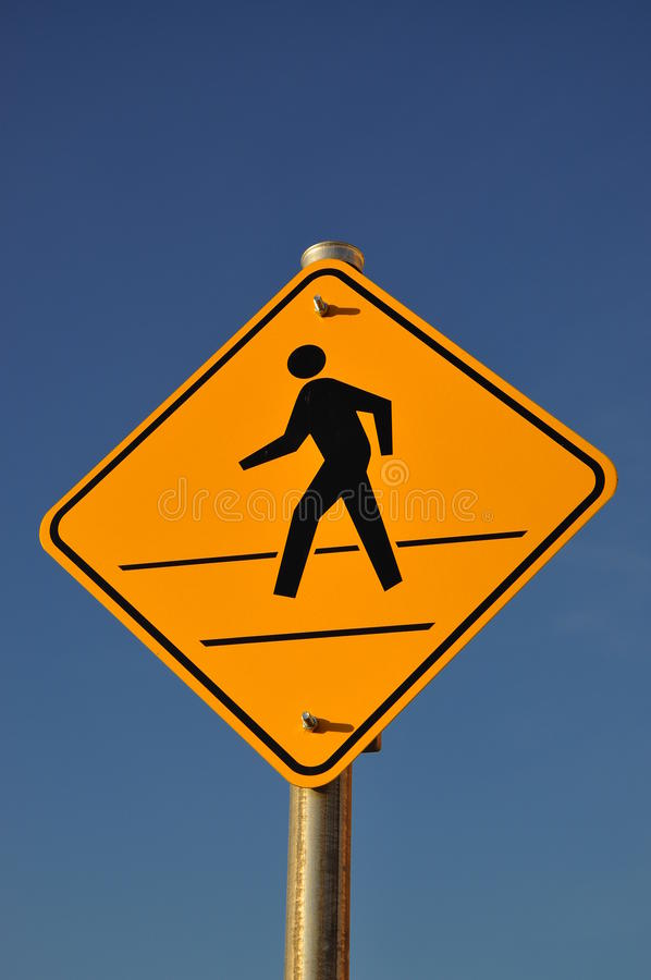 Free Pedestrian Crossing Sign Stock Photo - 21964590
