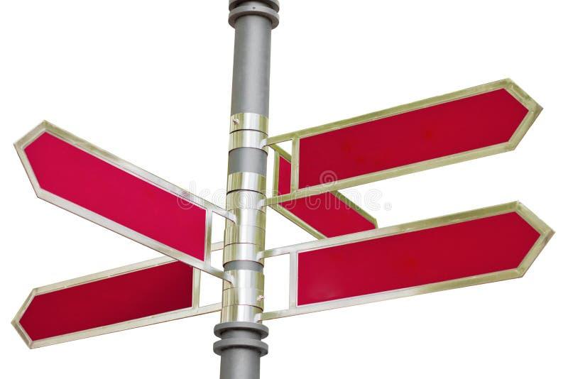 Pedestrian Pathway Panel Royalty Free Stock Photos