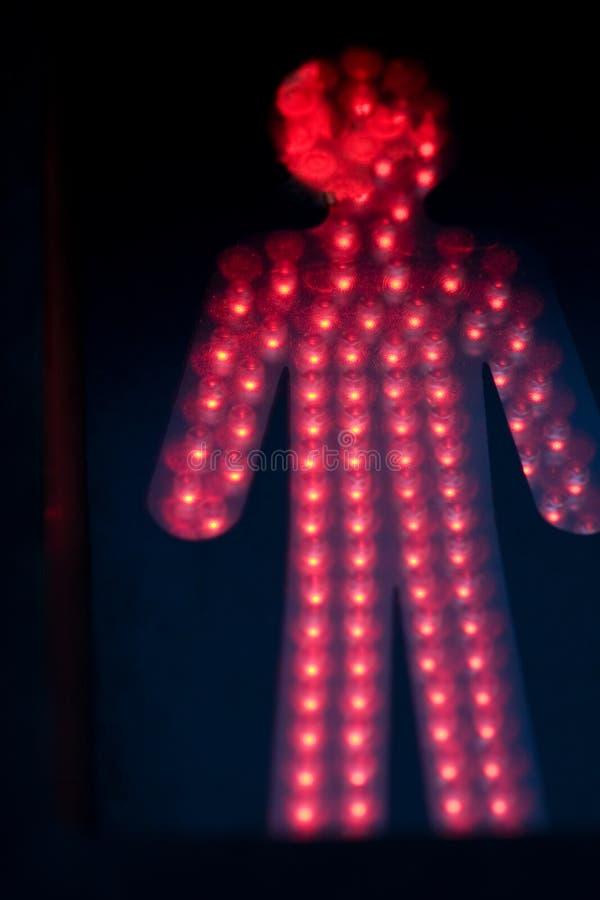 Download Pedestrian red light stock photo. Image of light, warning - 7362862