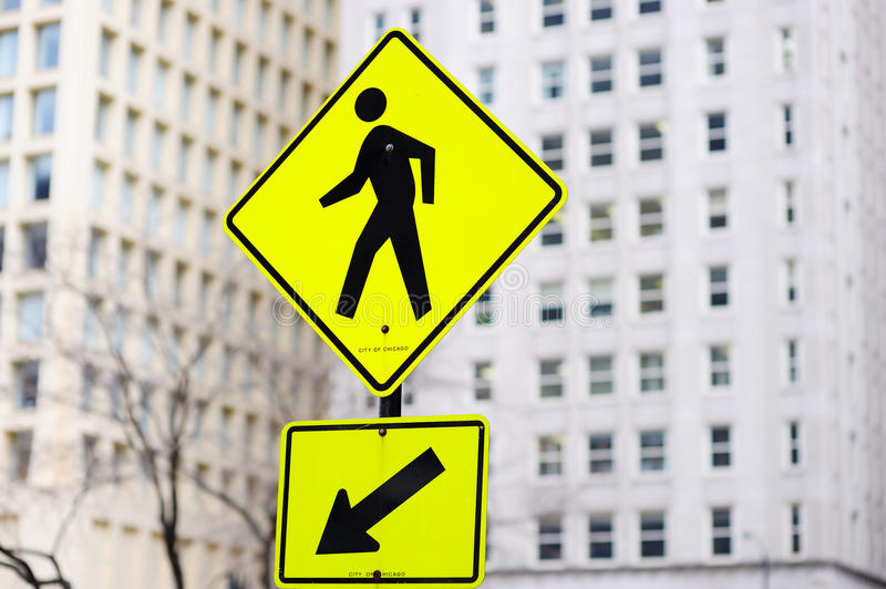 The Pedestrian royalty free stock photo
