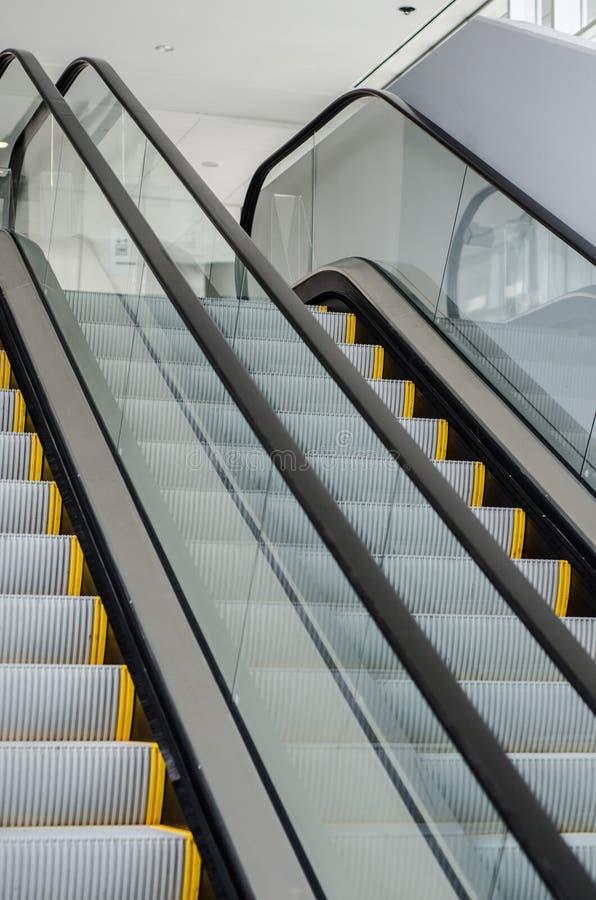 Pedestrian transport Escalator royalty free stock image