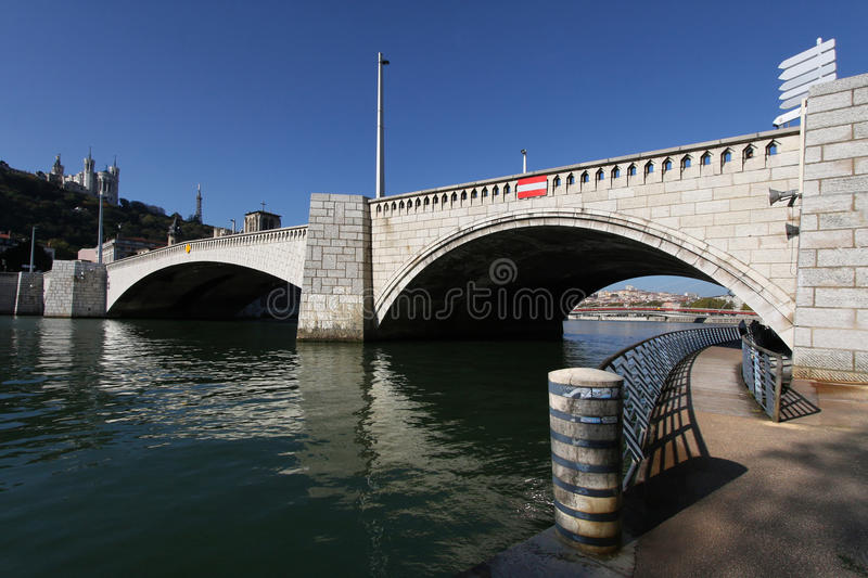 Download Pedestrian Walk Under The Bridge Stock Photo - Image: 21700550