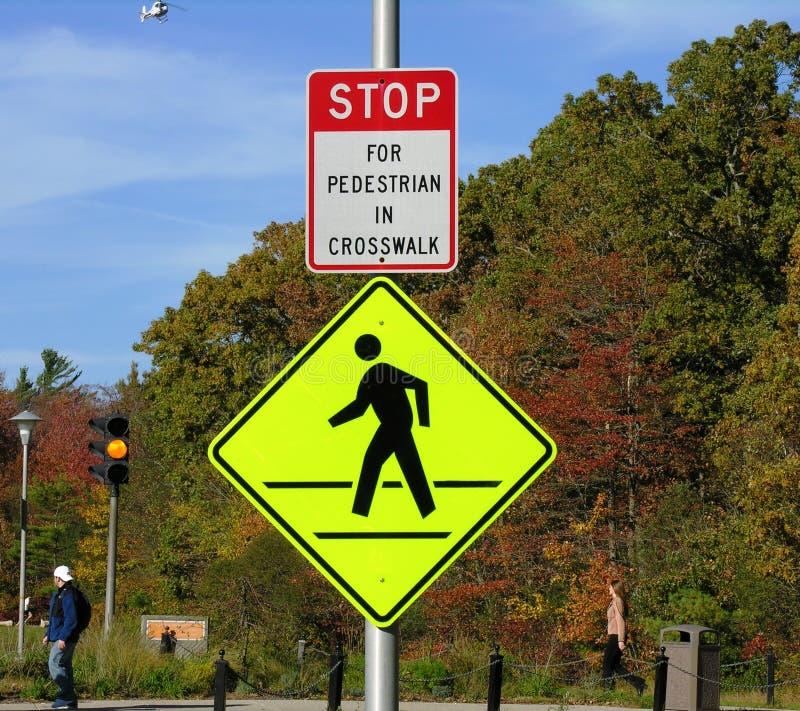 Free Pedestrian Walking Sign Royalty Free Stock Image - 332216