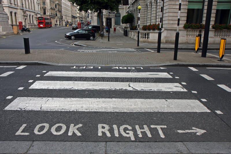 Download Pedestrian Zebra Crossing In London Stock Photo - Image of transit, british: 13831032
