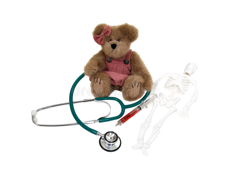 Pediatric care stock photography