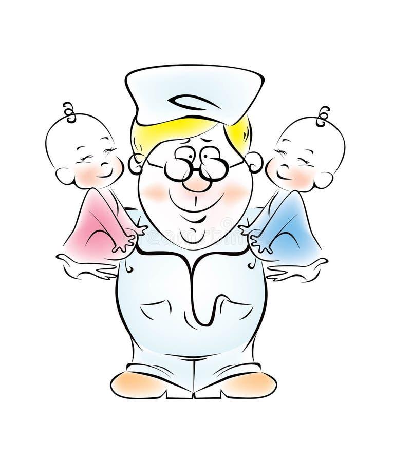 Pediatrician Stock Photo