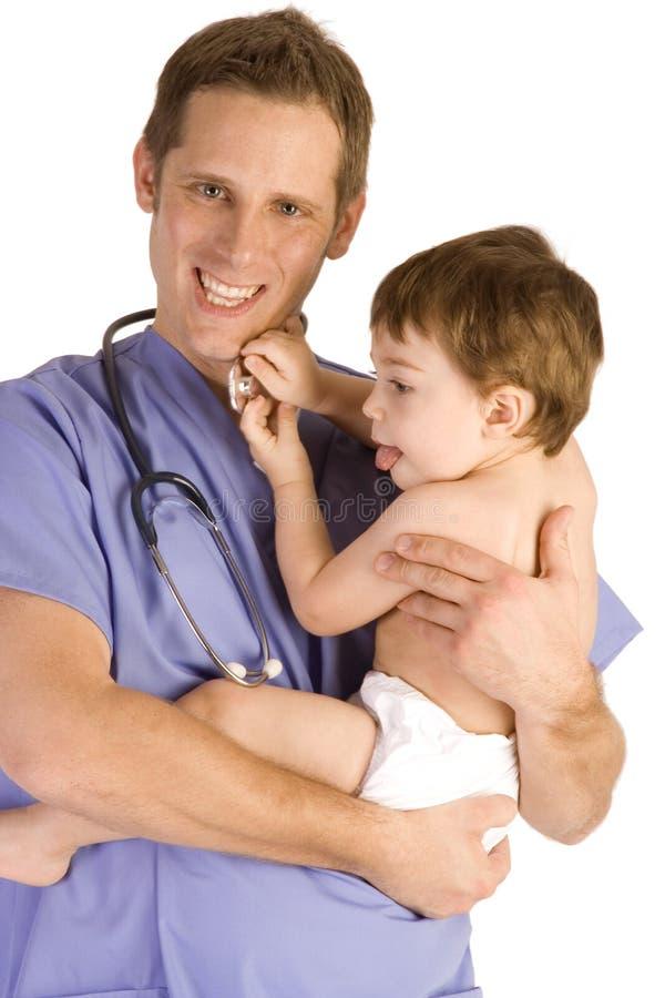 Pediatrician stock images