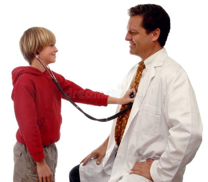 Pediatrics royalty free stock photography