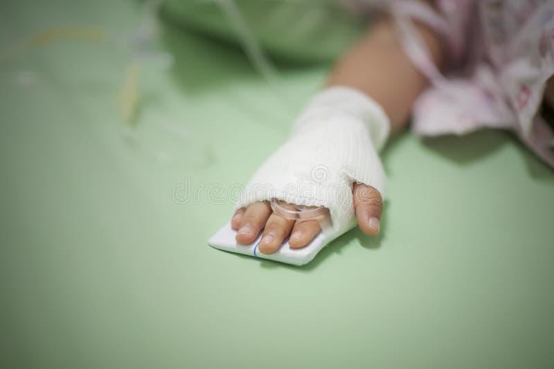 Pediatryczni pacjenci obrazy royalty free