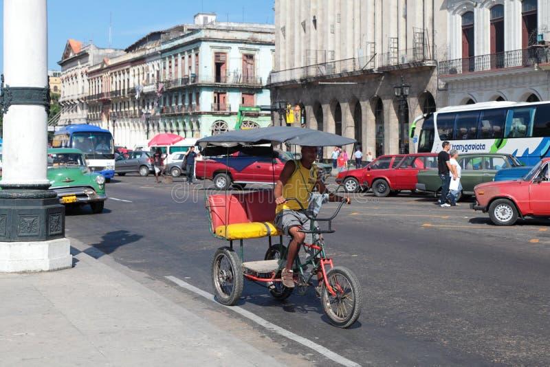 Pedicab stockbilder