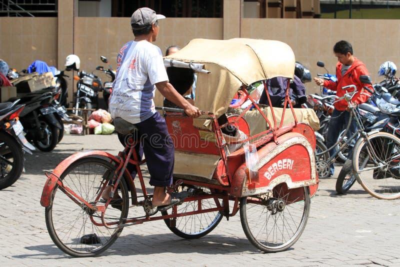 pedicab imagenes de archivo