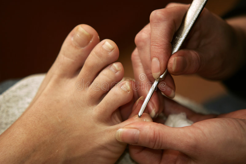 Pedicure royalty-vrije stock foto
