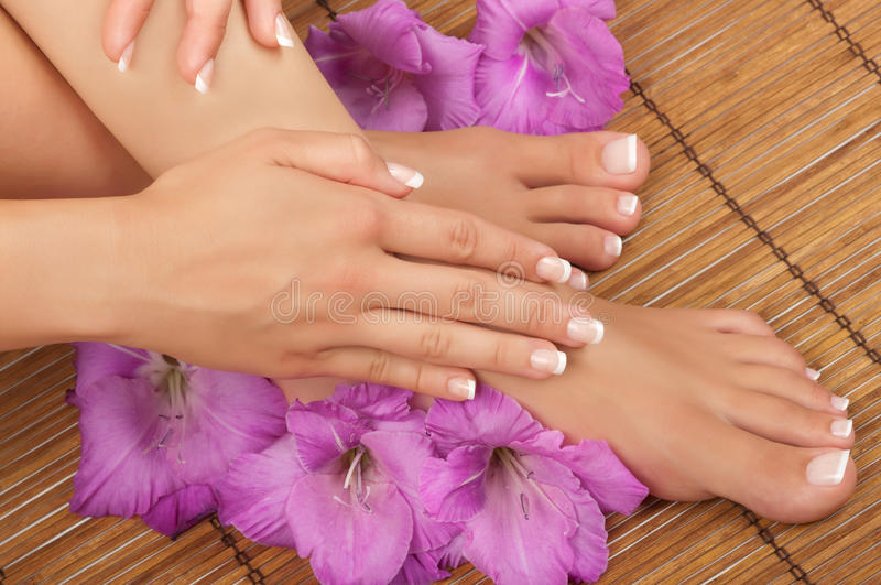 Download Pedicure and Manicure Spa stock photo. Image of nail - 20797952