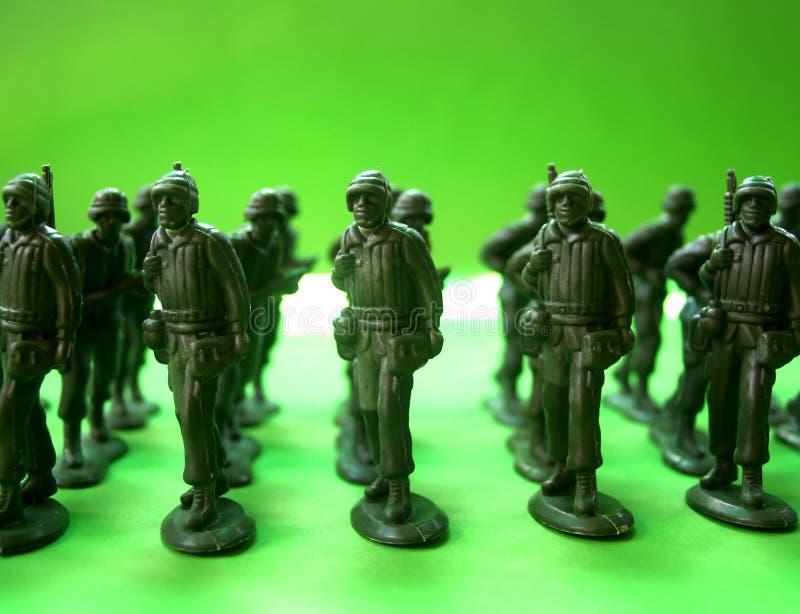 Pedido 1 de los soldados fotos de archivo libres de regalías