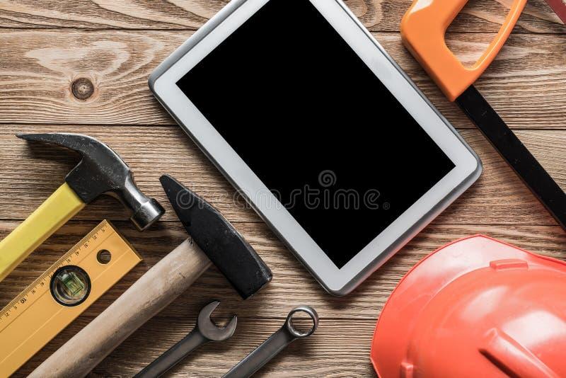 Pedido do serviço de reparações imagens de stock