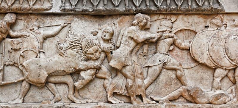 Download Pediment sculpture stock photo. Image of museum, civilisation - 26594894