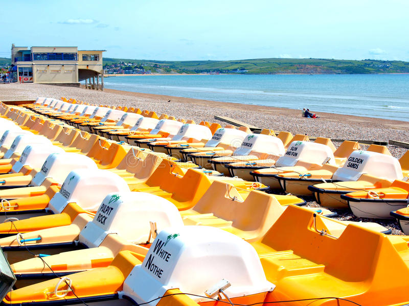 Pedlos, Weymouth. photographie stock