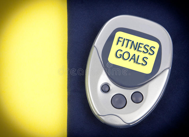 Download Pedometer Fitness Goals Royalty Free Stock Photo - Image: 28779655