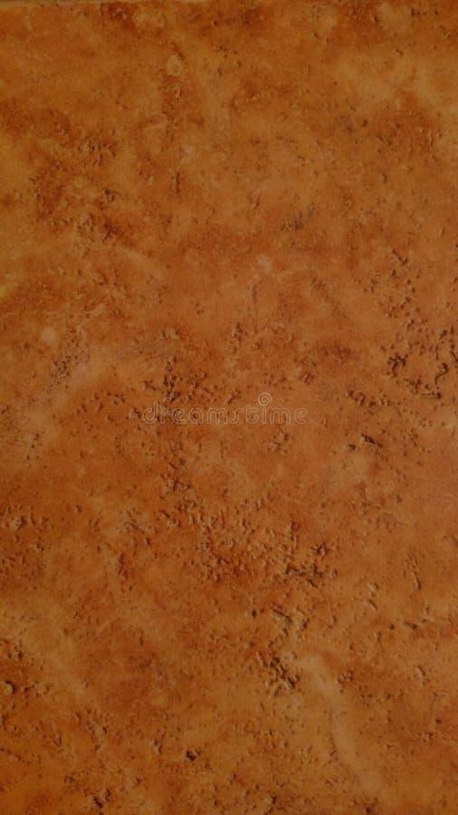 Pedra alaranjada da telha imagem de stock royalty free