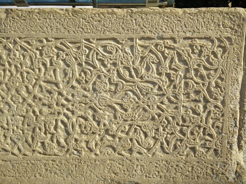 Pedra antiga da cripta fotos de stock