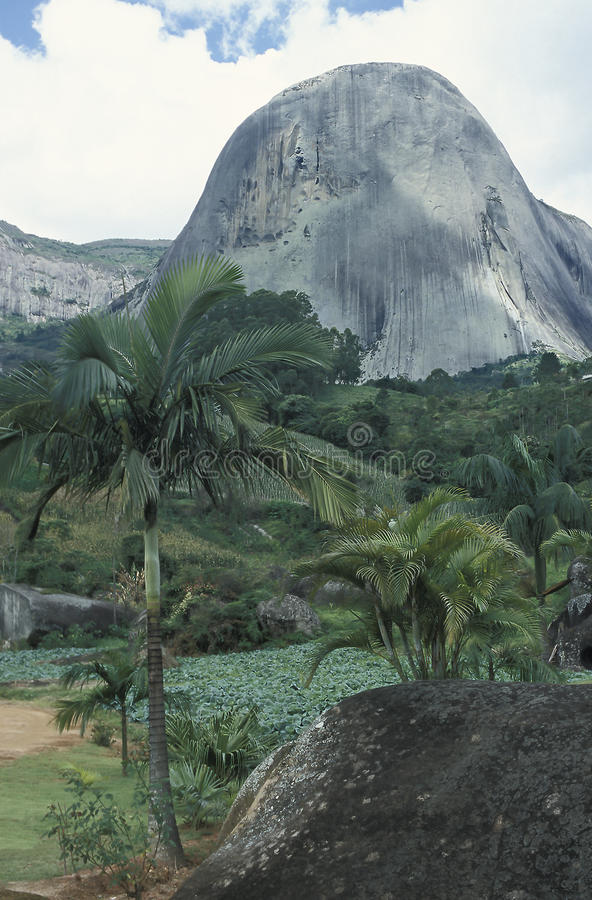 The Pedra Azul (Blue Stone) in the state of Espirito Santo, Brazil. The Pedra Azul (Blue Stone), state of Espirito Santo, south-eastern Brazil. The Pedra Azul stock images