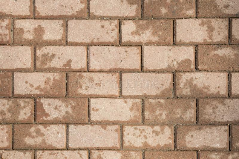 A pedra colorida telha a textura do pavimento fotos de stock