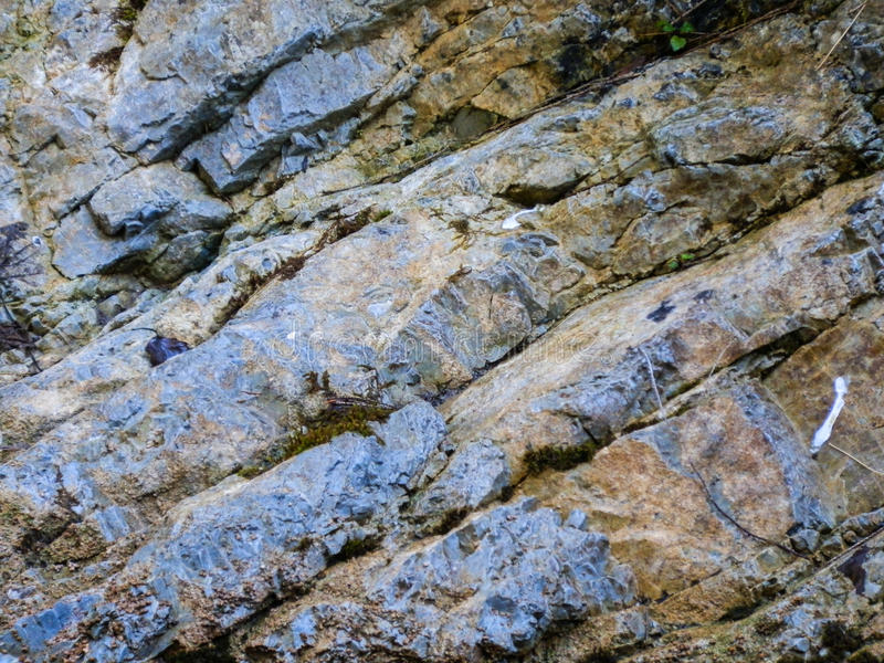 Pedra com rachaduras foto de stock