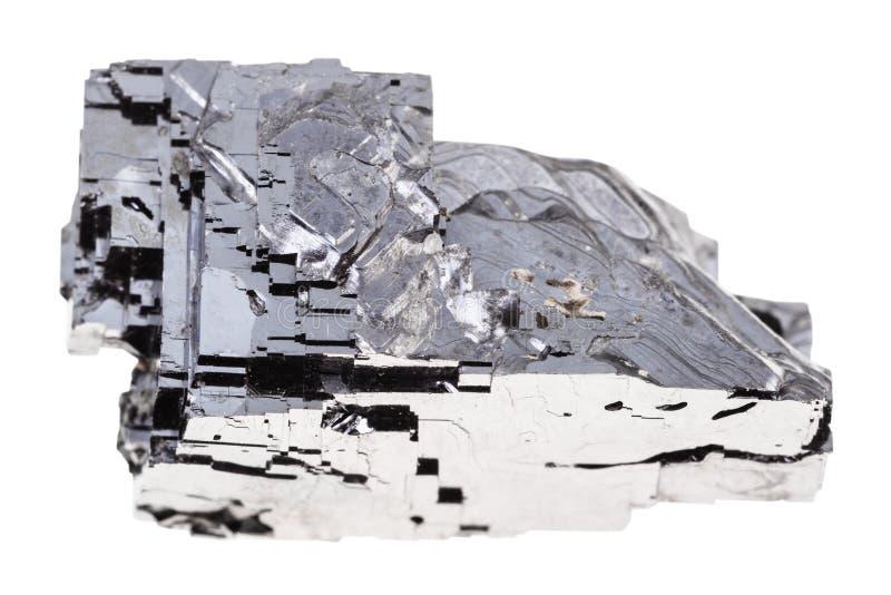 Pedra crua do galeno isolada imagem de stock