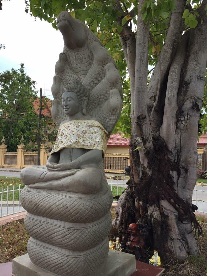 Pedra da Buda imagem de stock