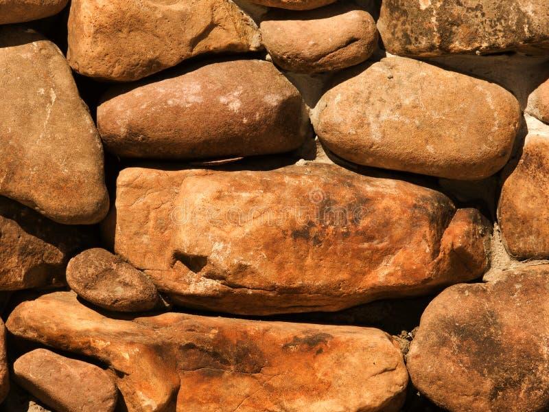 Pedra da casa da parede foto de stock