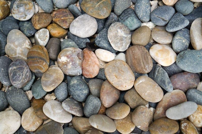 Pedra 2 da cor fotografia de stock